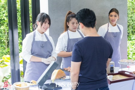 Delightful Sunday Brunch with Chef Pam at ISSARA Collection Sathorn