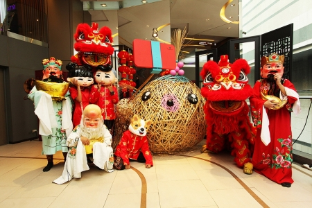 GAYSORN YEAR OF THE DOG – HAPPY CHINESE NEW YEAR 2018