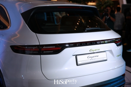 The New Porsche Cayenne E – Hybrid