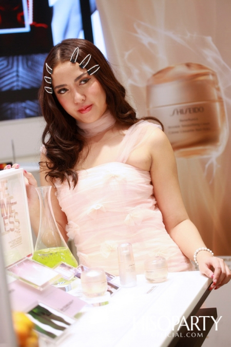 'NEW SHISEIDO BENFIANCE' The Timeless One with