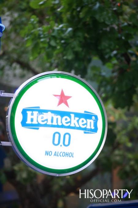 ครั้งแรกในประเทศไทยกับการเปิดตัว Heineken 0.0 เครื่องดื่มมอลต์ไม่มีแอลกอฮอล์!