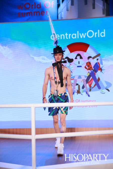 Centralworld World of Summer Fashion Show 2019