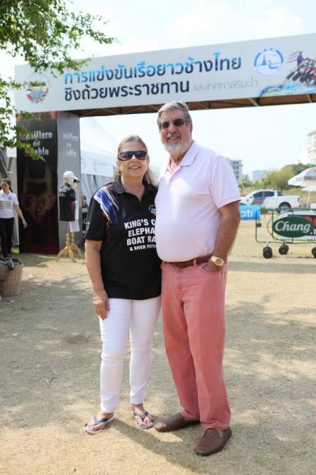 งานแข่งขันเรือยาวช้างไทยชิงถ้วยพระราชทานสมเด็จพระเจ้าอยู่หัว สำเร็จงดงาม พร้อมสานต่องานช่วยเหลือช้างไทย