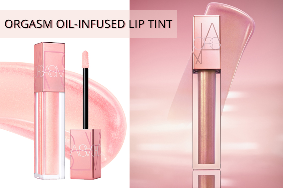 �ล�าร���หารู��า�สำหรั� Nars Oil Infused Lip Tint Orgasm