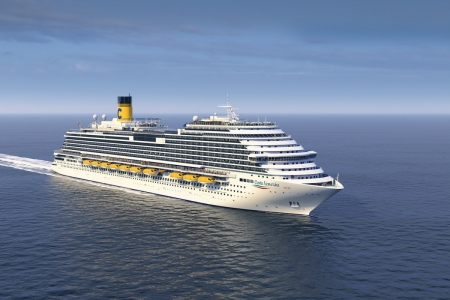 คอสตา เวเนเซีย เรือสำราญที่ถูกออกแบบเพื่อตลาดเอเชียจากคอสตา เข้าเทียบท่าแหลมฉบังเป็นครั้งแรก