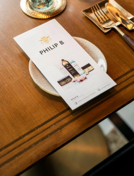 The Rosewood X PHILIP B 5 Year Anniversary Event