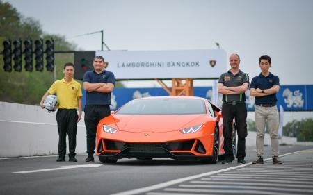 Huracán EVO Test Drive  งานทดสอบสมรรถนะ 'ลัมโบร์กินี ฮูราแคน อีโว' ครั้งแรกในประเทศไทย