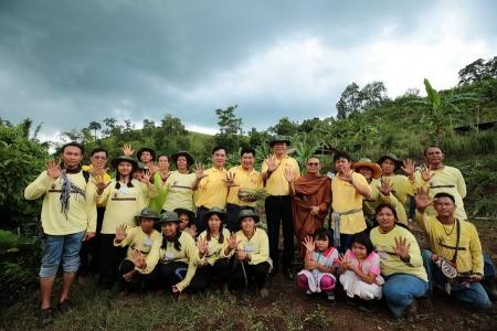 บางจากฯ จัดโครงการ 'Stop Soil Erosion, Save our Future หยุดการชะล้างพังทลายของดิน คืนชีวิตให้แก่นมะกรูด ด้วยศาสตร์พระราชา'