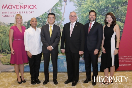 งานเปิดตัว Mövenpick BDMS Wellness Resort Bangkok เวลเนสรีสอร์ทระดับ 5 ดาวแห่งใหม่ใจกลางกรุงเทพฯ