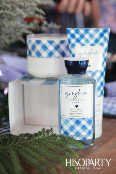 Bath&Body Works 'Gingham' Collection Launch