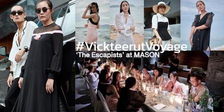 #VickteerutVoyage 'The Escapists' at MASON