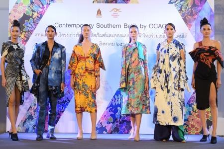 กระทรวงวัฒนธรรม โดยสำนักงานศิลปวัฒนธรรมร่วมสมัย ร่วมกับเหล่าแฟชั่นดีไซเนอร์ไทย จัดงานแถลงข่าวเปิดตัวผลงานการออกแบบเครื่องแต่งกายผ้าไทย