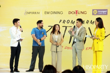 From Farm to Table From 'Doitung' to 'Em Dining'