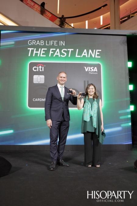 งานเปิดตัว 'ซิตี้แกร็บ' (Citi Grab Credit Card) ตอบโจทย์ลูกค้าแกร็บด้วยสิทธิประโยชน์ระดับแพลทตินัม