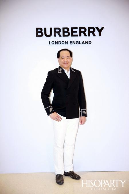BURBERRY จัดงานปาร์ตี้สุดเอ็กซ์คลูซีฟเฉลิมฉลอง เปิดตัว บูติก สโตร์แห่งใหม่ ณ ศูนย์การค้าเซ็นทรัล เอ็มบาสซี