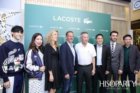 Lacoste (ลาคอสท์) เปิดตัวแฟลกชิฟสโตร์ที่ใหญ่ที่สุดในโลก ณ ศูนย์การค้าเซ็นทรัลเวิลด์