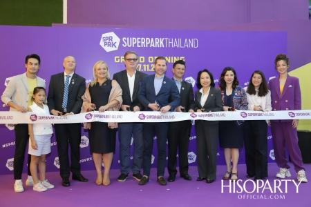 งานเปิดตัว 'ซุปเปอร์พาร์ค' สวนสนุกในร่มสุดฮิตจากประเทศฟินแลนด์