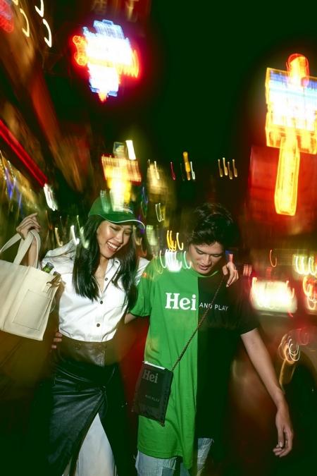 Heineken® X Q Design and Play คอลเลคชั่นพิเศษแห่งปีที่สายแฟชั่นห้ามพลาด