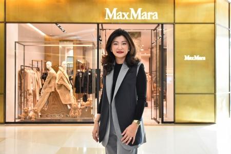 Max Mara ฉลองเปิดแฟล็กชิพสโตร์สุดหรูสาขาล่าสุด ณ สยามพารากอน