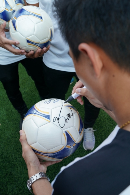 Sansiri X Messi Jay Football Workshop