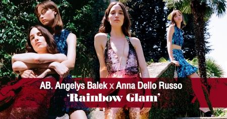เปรี้ยวแซ่บไม่มีใครเกิน! กับชุดว่ายน้ำคอลเลกชั่นพิเศษ AB. Angelys Balek x Anna Dello Russo 'Rainbow Glam'