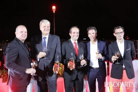งานเปิดตัวแชมเปญ มุมม์ โอลิมป์ โรเซ่ (Mumm Olympe Rosé) จาก จี.เอช.มุมม์ (G.H.MUMM) พร้อมฉลองครบรอบ 3 ปี CRU Champagne Bar