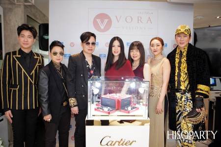 Vora Visions จัดงานเปิดตัวแว่นตา Cartier Precious รุ่นทองคำ คอลเลกชั่นมาสเตอร์พีซแห่งปี