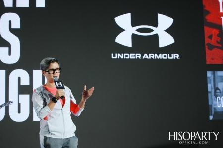 งานแถลงข่าวเปิดตัวแคมเปญระดับโลก Under Armour 'The Only Way is Through' และเปิดตัวรองเท้ารุ่นใหม่ล่าสุด UA HOVR Machina พร้อมกันทั่วโลก