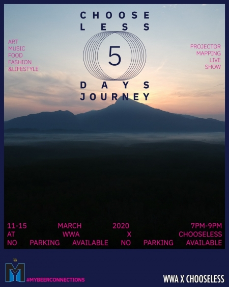 #MYBEERCONNECTIONS Chooseless 5-Day Journey