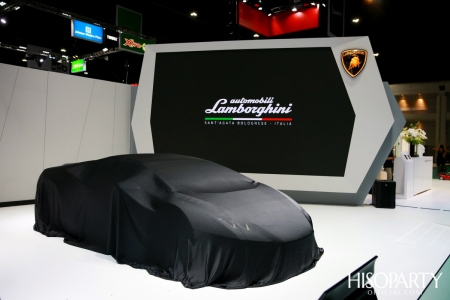 LAMBORGHINI at The 41st Bangkok International Motor Show