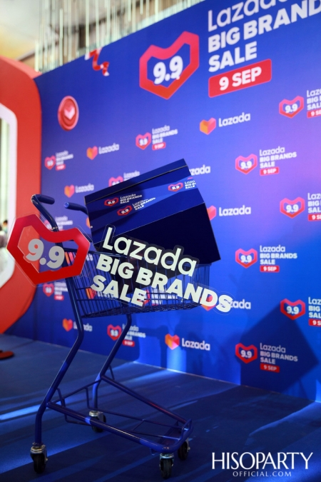 งานแถลงข่าว Lazada 9.9 Big Brands Sale
