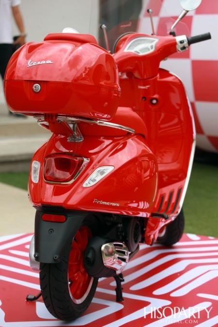 (VESPA PRIMAVERA)RED, A LOVE FOR (RED)