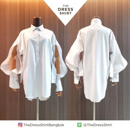 THE DRESS SHIRT by BUTTON UP คอลเลกชั่นเสื้อเชิ้ตขาว 13 ดีไซน์