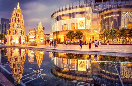 Bangkok Illumination 2020 At ICONSIAM