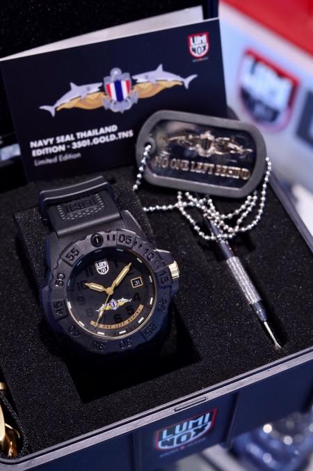 Luminox สานต่อความสำเร็จสรรค์สร้างนาฬิกาลิมิเต็ดอิดิชั่น Thai Navy SEAL รุ่น 2