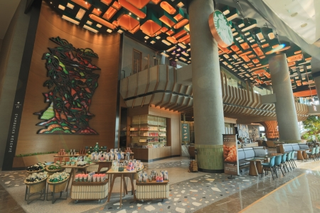 Starbucks Reserve Chao Phraya Riverfront @ICONSIAM