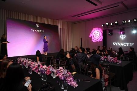 งานเปิดตัวกลุ่มผลิตภัณฑ์  SYNACTIF สูตรปรับปรุงใหม่ล่าสุด จาก CLÉ DE PEAU BEAUTÉ