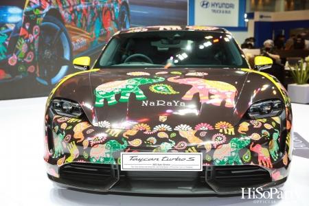 งานแถลงข่าวเปิดบูธรถยนต์ปอร์เช่ ในงานบางกอก อินเตอร์เนชั่นแนล มอเตอร์โชว์ ครั้งที่ 42
