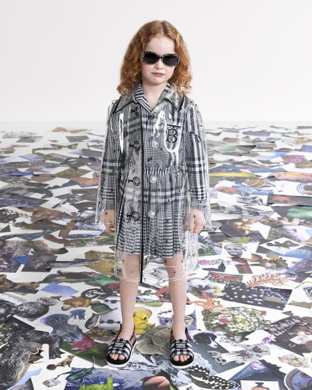 Burberry Spring Summer 2021 Childrenswear Campaign