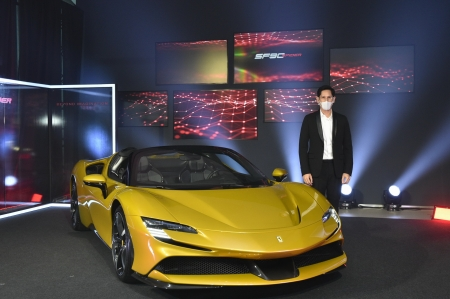 Ferrari SF90 Spider เผยโฉมแล้วครั้งแรกในประเทศไทย ในรูปแบบดิจิทัล ผ่าน FB Live